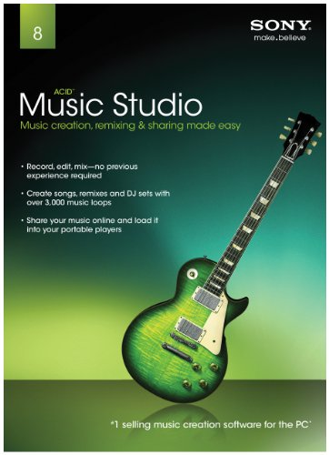 Sony Creative Software ACID Music Studio 8.0 - 2011 [Old Version]