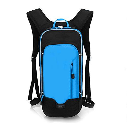 LZHA - Bolsa impermeable para bicicleta de montaña, para deportes al aire libre, para correr, escalada, camping, esquí, senderismo, color azul