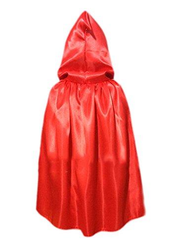 DATO Cape Manteau Cape à Capuche Déguisements Adultes Enfant Unisexe Cosplay Parti Prop Cap Capuche Halloween Médiévale Longs Tippet Costume