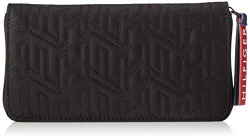 Tommy Hilfiger Women's Taylor Zip Wallet, Black