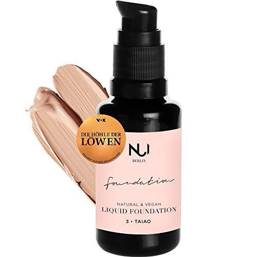 Naturkosmetik vegan natürlich glutenfrei Natural Liquid Foundation 03 TAIAO Make Up mit warmem hellem Farbton