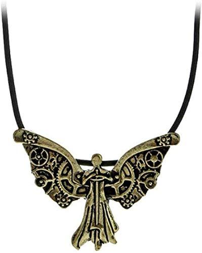 Yiffshunl Collar Tema Collar Collares multimodelo para Mujer Collar de Moda Vintage Joyas múltiples Collar con Colgante de película Regalo