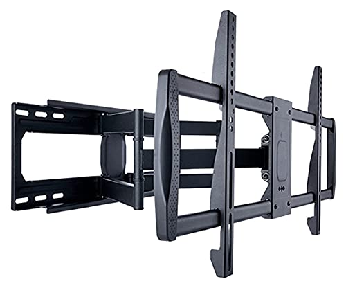 32'-100' montado en la Pared TELEVISOR Soporte Articulando Armas Extensión Extensión Tilt Rotación Gran Pantalla TELEVISOR Montar (Color : Black)