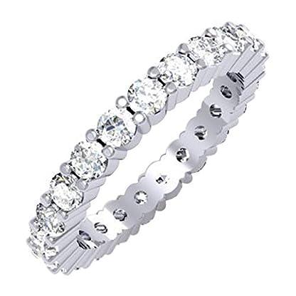 Anillo de diamantes para boda mujer