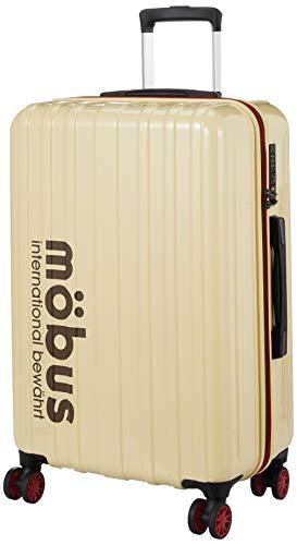[エー・エル・アイ] ハードキャリー mobus×A.L.I コラボレーションキャリーケース 60L 65.5 cm 3.4kg アイボリー