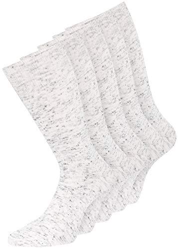 10 Paar Diabetiker Herren Socken ohne Gummi farbig Baumwolle (47-50, italymelange)