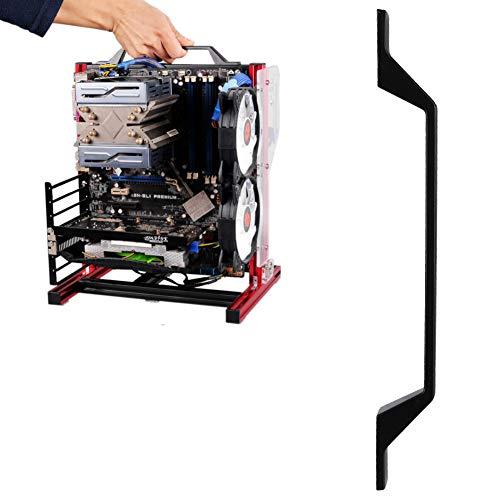 143 PC Gehäuse Handgriff für Chassis PC-Handgriff für PC-Prüfstand, PC-Prüfstandsgriff Open-Frame-PC-Gehäusegriff, PC-Open-Hülle-ITX-Handgriff, Handgriff für Open-Frame-ATX-Gehäuse/Open Frame PC-Gehäuse/PC-Prüfstands