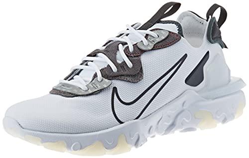 Nike Herren React Vision 3M Laufschuh, White Anthracite Univ Red, 43 EU