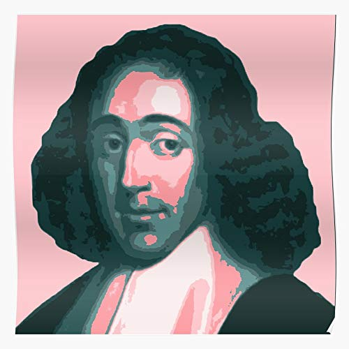 Principles Philosophy Man Well Political Spinoza Short And On Of Treatise His The God Metaphysics Understanding Being Improvement Theologico Ethics Cartesian | Home Decor Wall Art Print Poster