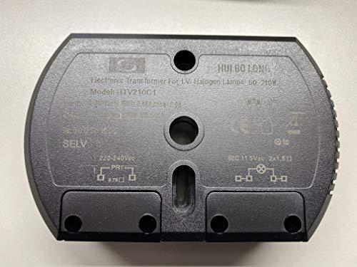 Elektronischer Trafo 100-250 WATT HUI BO LONG HTV250C2 12V Halogen  Halbrund