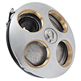 SALALIS Pieza Nasal De Lente Objetivo, Accesorio De Microscopio Adaptador De Lente Objetivo para Microscopio