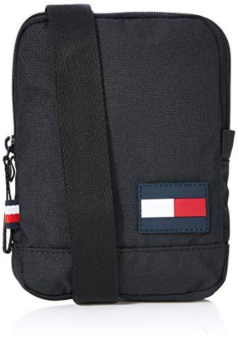 Tommy Hilfiger Herren Tommy Core Compact Crossover Business Tasche, Schwarz (Black), 17x13x2cm