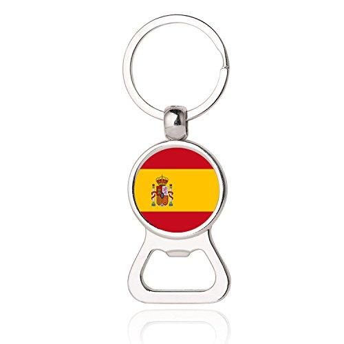 Llavero Colgante España Bolso Sacacorcho Adorno Concurso Fútbol Recuerdo Regalo Decoración del...