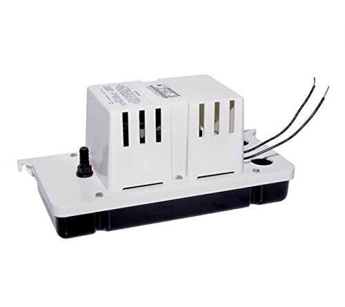 Little Giant 554200, VCC-20ULS 1/30 hp 80 GPH Low Profile Condensate Removal Pump with 6 ft. Cord, 115V-60Hz, Pack of 3 pcs