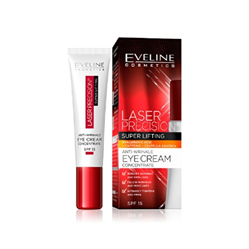 Eveline Laser Precision Lifting Eye Cream SPF 15 Intense Smoothing 15ml by Eveline Cosmetics