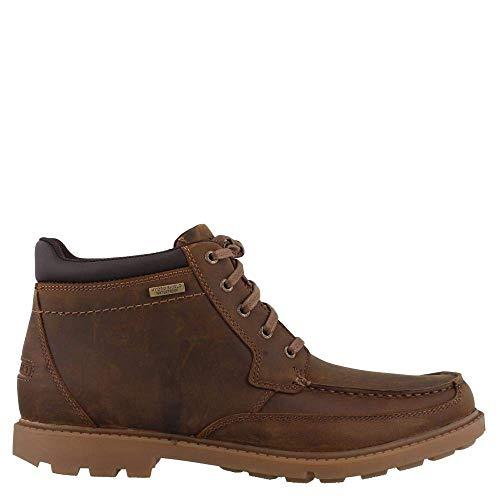 Rockport Patten Waterproof Moc Toe Boot Brown 8 M (D)
