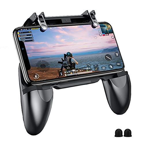 BESTZY PUBG Mobile Controller Gamepad Joystick Porta Cellulare, mirino e Scatto Altamente sensibili per PUBG/Fortnite/Knives out/Rules of Survival, 4.5in-6.5in