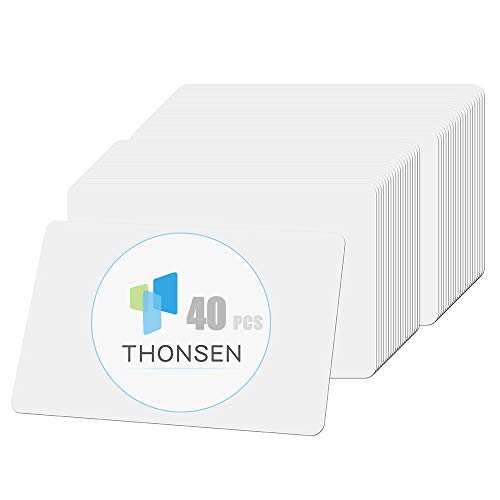 THONSEN 40Pcs NFC Tags NTAG215 PVC Cards Compatible with Amiibo and TagMo for Android and All Phone NFC Enabled