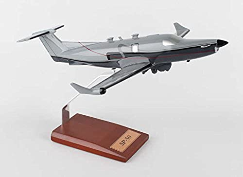 B60640 Executive Series Display Models United States Air Force (USA) Pilatus PC-12 Model Airplane by Executive Series Display Models