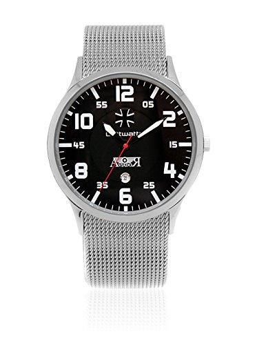 AVIADOR Reloj con Movimiento japonés Av-1111 44 millimeters