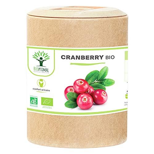 Cranberry Bio - Bioptimal - Complément...
