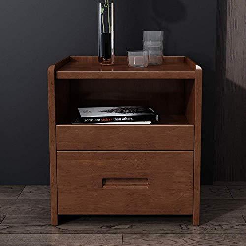 TXXM® Herstellung Massivholz Nachttisch Nacht Beistelltisch Form einfach und haltbar und praktisch Praktische Möbel (Color : B)