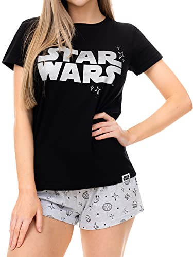 Star Wars Damen Schlafanzug Schwarz XX-Large