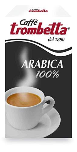 Caffè Trombetta, Caffè Macinato, 100% Arabica - 1 Confezione da 250g