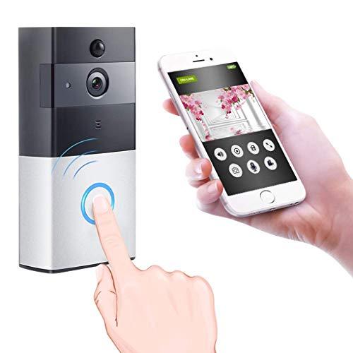 BABY MONITOR ZLMI Smart WiFi Vidéo Sonnette Ultra Basse Puissance Alarme Domestique Vidéo sans Fil Interphone Sonnette Téléphone Portable Vidéo À Distance