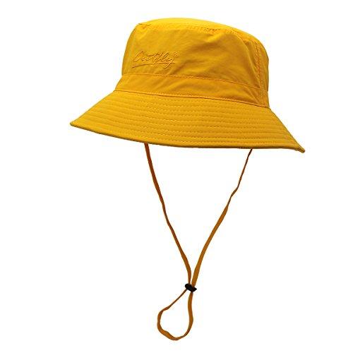 schnell trocken Eimer hüte für Sommer upf50+ Unisex Fischer - Hut Damen Herren Polyester Outdoor Sonnenhüte
