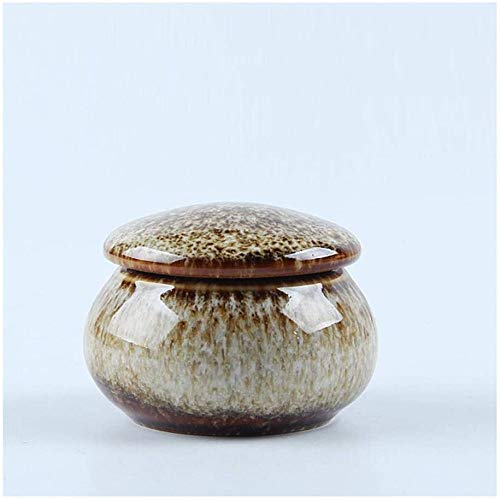 liangh Urna Funeraria para Cenizas De Mascota,urna De Cremación para Cenizas Humanas Adulto,Grande Urnas,5×5×3cm,G