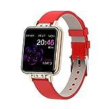 XXH Smart Watch IP68 Impermeable ZL13, Monitor De Ritmo Cardíaco De La Presión Arterial, Deportes De Bluetooth, Pulsera Reloj De Fitness para Hombres Y Mujeres para Android iOS,D