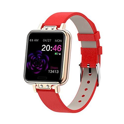 YDK ZL13 Empresa Impermeable Smartwatch Monitor De Ritmo Cardíaco Rastreador De Fitness Bluetooth Menstrual Ciclo De Ejercicio Pulsera para Android iOS,D