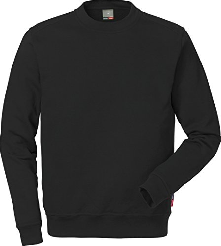 Fristads Sweatshirt Kansas Workwear 121631 Gr. L, Schwarz