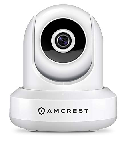 Amcrest 1080P WiFi Security Camera 2MP Indoor Pan/Tilt Wireless IP Camera, IP2M-841W (White)