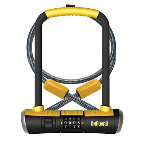 Onguard Bulldog Combo DT-8012C Combo Shackle Lock, Black, 11.5 x 23.0 cm