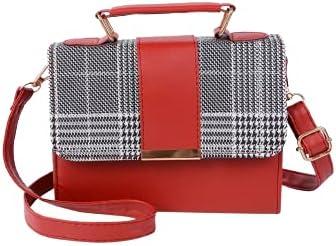 Fashion Crossbody Handbag Purse Tote Hobo Bag (Red)