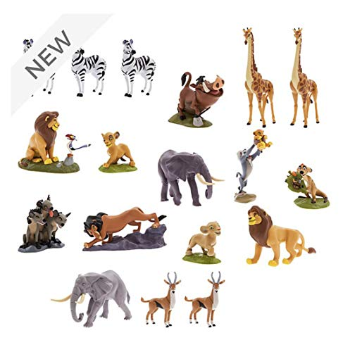 D Disney Store The Lion King Mega Figurine Playset, Original Disney