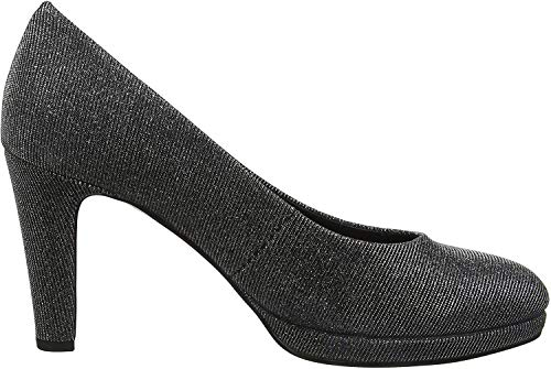 Gabor Shoes Damen Fashion Pumps, Grau (Argento 69), 42 EU