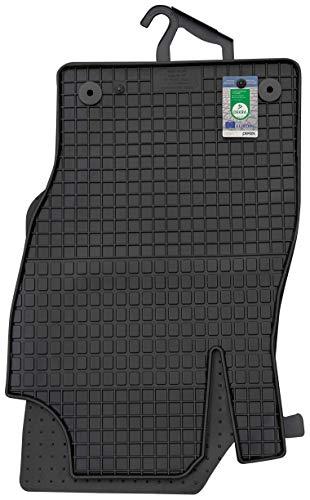 PETEX Gummimatten passend für Corsa D ab 10/2006-11/2014 Fußmatten schwarz 4-teilig
