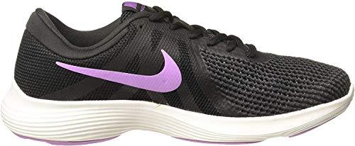 Nike Women's Revolution 4 Running Shoe (7 B(M) US, Black/Crimson Pulse/Anthracite)