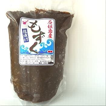 沖縄石垣島産・塩もずく10kg(1kg×10パック)養殖もずく・シャキシャキタイプ・2021年の新もずく