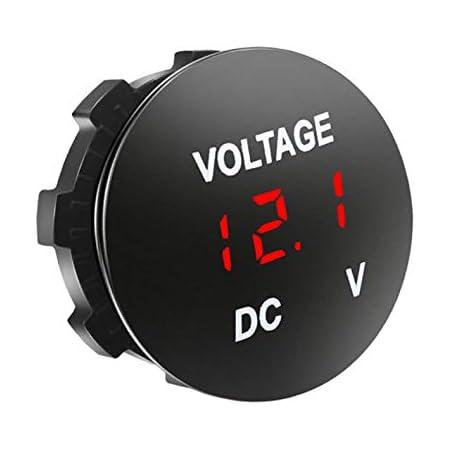Led Anzeige Digital Voltmeter Dc 12v 24v Elektronik