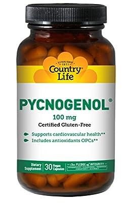 Country Life Pycnogenol 100 mg - 30 Vegan Capsules