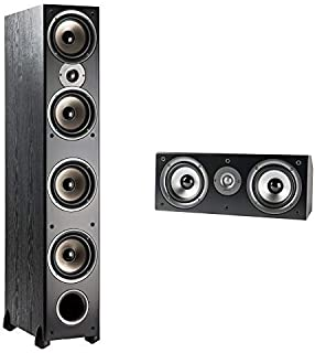 Polk Audio Monitor Series 3 Channel Home Theater Bundle   Includes Two (2) Monitor 70 Tower Speakers & One (1) Monitor CS1 Center Channel   Incredible Value Home Theater