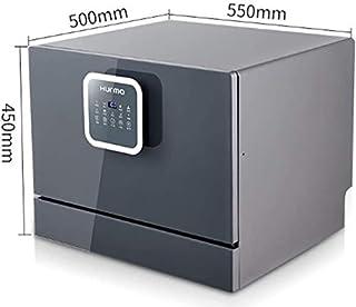 GJJSZ Lavavajillas,Canasta de Repuesto para lavavajillas,6 Posiciones Energy Star Home Lavavajillas de sobremesa Empotrado Programa de Lavado Top Ten 25min Lavado rápido
