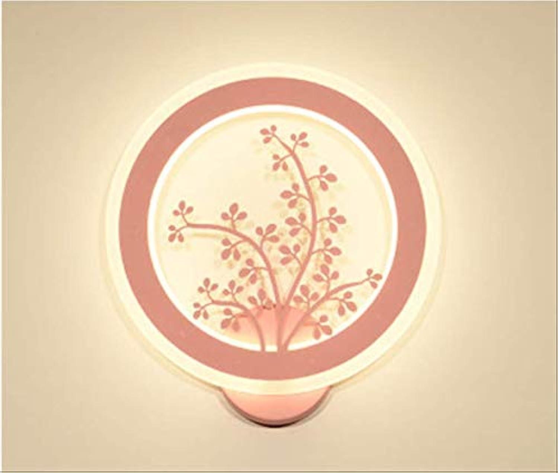 Wandleuchte Led Acryl Einfache Moderne Moderne Moderne Kreative Wandlampe Schlafzimmer Nachttischlampe Wohnzimmer Lampe 28W Warme Beleuchtung Lampen 28  30  3Cm B
