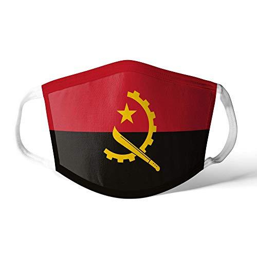 M&schutz Maske Stoffmaske X Groß Afrika Flagge Angola/Angolan Wiederverwendbar Waschbar Weiches Baumwollgefühl Polyester Fabrik