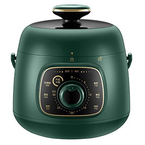 XIAOFEI Électronique Multifonction Cuisine Pot Autocuiseur Électrique Multi Cuisinier Programmable Multi- Cuisinier Lent Cuisinier Instant Pot Riz Cuisinier 1.5L,Vert