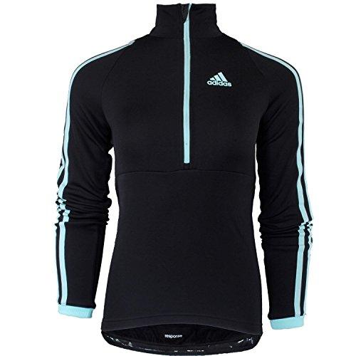 Adidas Response Longsleeve Jersey W F87527 Damen Radfahrtrikot / Radsport Shirt / Radtrikot Schwarz S